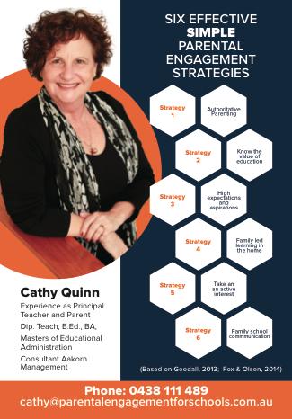Cathy Quinn Educational Consultant